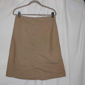 GAP Khaki Skirt Size 10